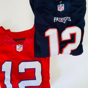 Women's New England Patriot Tom Brady Jersey: M